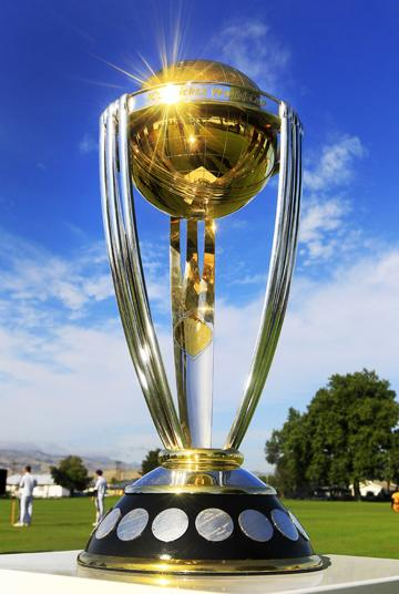 World Cup Cricket Trophy